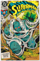 """1992 """"Superman: The Man of Steel"""" Issue #18 DC Comic Book at PristineAuction.com"""