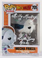 "Linda Young Signed ""Dragon Ball Z"" #705 Mecha Frieza Funko Pop! Vinyl Figure Inscribed ""Frieza"" & ""Silly Monkeys"" (JSA COA) at PristineAuction.com"