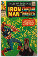 """1966 """"Tales of Suspense"""" Issue #82 Marvel Comic Book (See Description) at PristineAuction.com"""