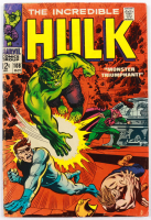 """1968 """"The Incredible Hulk"""" Issue #108 Marvel Comic Book (See Description) at PristineAuction.com"""