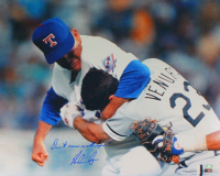 """Nolan Ryan Signed Rangers 16x20 Photo Inscribed """"Don't mess with Texas"""" (AI Verified COA & Ryan Hologram) at PristineAuction.com"""
