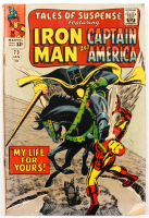 """1966 """"Tales of Suspense"""" Issue #73 Marvel Comic Book (See Description) at PristineAuction.com"""