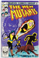 """1983 """"The New Mutants"""" Issue #1 Marvel Comic Book at PristineAuction.com"""