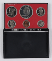 1973-S United States Silver Proof Set with (6) Coins & Original Packaging (See Description) at PristineAuction.com