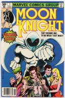 """1980 """"Moon Knight"""" Issue #1 Marvel Comic Book at PristineAuction.com"""