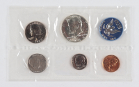 1965 U.S. Mint Uncirculated Coin Set with (10) Coins & Envelope at PristineAuction.com