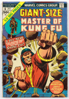 """1974 """"Giant Size: Master of Kung Fu"""" Issue #1 Marvel Comic Book (See Description) at PristineAuction.com"""