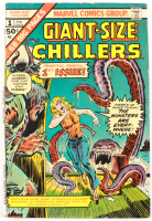 """1975 """"Giant Size: Chillers"""" Issue #1 Marvel Comic Book (See Description) at PristineAuction.com"""