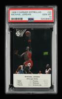 Michael Jordan 1988 Fournier NBA Estrellas #22 (PSA 10) at PristineAuction.com
