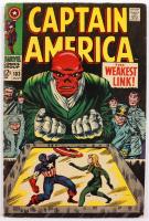 "1968 ""Captain America"" Issue #103 Marvel Comic Book (See Description) at PristineAuction.com"