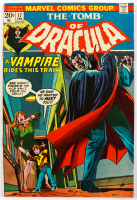 """1974 """"The Tomb of Dracula"""" Issue #17 Marvel Comic Book (See Description) at PristineAuction.com"""