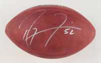 "Ray Lewis Signed NFL ""The Duke"" Super Bowl XLVII Logo Football (Beckett COA) at PristineAuction.com"