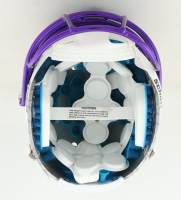 Ray Lewis Signed Full-Size Authentic On-Field Hydro Dipped Vengeance Helmet (Beckett COA) (See Description) at PristineAuction.com