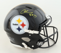 Chase Claypool Signed Steelers Full-Size Authentic On-Field Speed Helmet (Beckett COA) at PristineAuction.com