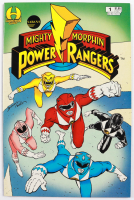 """1994 """"Mighty Morphin Power Rangers"""" Issue #1 Saban Comic Book at PristineAuction.com"""