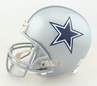 Tyron Smith, Travis Frederick & Zack Martin Signed Cowboys Full-Size Helmet (JSA COA) at PristineAuction.com