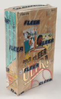 1993 Fleer Ultra Series 1 Baseball Box with (36) Packs at PristineAuction.com