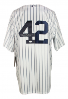 """Mariano Rivera Signed Yankees Jersey Inscribed """"Yankee For Life"""" (JSA COA) at PristineAuction.com"""