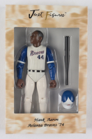 Vintage '74 Hank Aaron Braves Figure With Original Packaging at PristineAuction.com