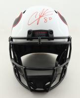 Andre Johnson Signed Texans Full-Size Lunar Eclipse Alternate Speed Helmet (JSA COA) (See Description) at PristineAuction.com