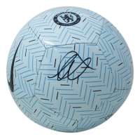 Mason Mount Signed Soccer Ball with Display Case (Beckett COA) at PristineAuction.com