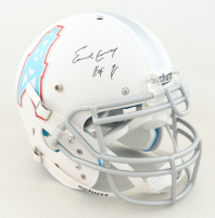 """Earl Campbell Signed Full-Size Authentic On-Field Helmet Inscribed """"HOF 91"""" (JSA COA) (See Description) at PristineAuction.com"""