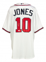Chipper Jones Signed Braves Jersey (JSA COA) at PristineAuction.com