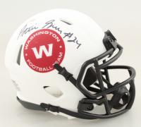 Antonio Gibson Signed Washington Lunar Eclipse Alternate Speed Mini Helmet (JSA COA) (See Description) at PristineAuction.com