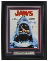 "Richard Dreyfuss ""Jaws"" 11x17 Custom Framed Poster Display (JSA COA) at PristineAuction.com"