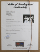 Joe DiMaggio, Mickey Mantle & Ted Williams Signed 8x10 Custom Framed Photo Display (PSA LOA) at PristineAuction.com