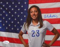 Christen Press Signed Team USA 8x10 Photo (JSA COA) at PristineAuction.com