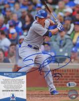 Joc Pederson Signed Dodgers 8x10 Photo (Beckett COA) at PristineAuction.com