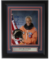 """Guy Bluford Signed 8x10 Custom Framed Photo Display Inscribed """"With Best Wishes"""" (JSA COA) at PristineAuction.com"""