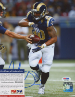 Todd Gurley Signed Rams 8x10 Photo (PSA COA) at PristineAuction.com