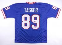 Steve Tasker Signed Jersey (Pro Player Hologram) at PristineAuction.com