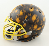 JuJu Smith-Schuster Signed Full-Size Authentic On-Field Hydro-Dipped Helmet (JSA COA) at PristineAuction.com