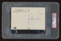 Sam Davis Signed Vintage 1960's Pittsburgh Steelers HOF 4x6 Postcard (PSA Encapsulated) at PristineAuction.com