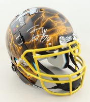 T. J. Watt Signed Full-Size Authentic On-Field Hydro-Dipped Helmet (Beckett COA) at PristineAuction.com