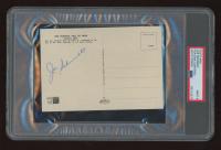 Joe Schmidt Signed Vintage 1960's Detroit Lions HOF 4x6 Postcard (PSA Encapsulated) at PristineAuction.com
