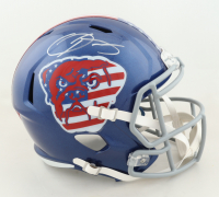 "Odell Beckham Jr. Signed Browns Full-Size ""American Flag"" Speed Helmet (JSA COA) (See Description) at PristineAuction.com"