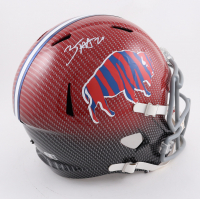 Zack Moss Signed Bills Full-Size Hydro-Dipped Speed Helmet (Beckett Hologram) at PristineAuction.com