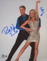 Bill Nye and Tyne Stecklein Signed 8x10 Photo (Beckett COA) at PristineAuction.com