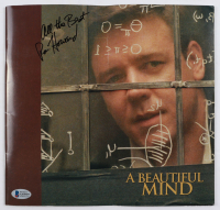 """Ron Howard Signed """"A Beautiful Mind"""" Softcover Booklet Inscribed """"All The Best"""" (Beckett COA) (See Description) at PristineAuction.com"""