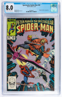 """1983 """"Peter Parker: The Spectacular Spider-Man"""" Issue #85 Marvel Comic Book (CGC 8.0) at PristineAuction.com"""