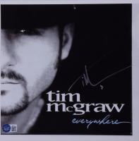 Tim McGraw Signed 10x10 Photo (Beckett COA) at PristineAuction.com