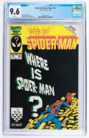 """1986 """"Web of Spider-Man"""" Issue #18 Marvel Comic Book (CGC 9.6) at PristineAuction.com"""