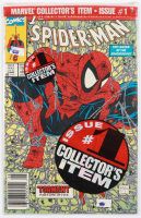 """1990 """"Spider-Man: Torment"""" Vol. 1 Issue #1 Green Polybagged Edition Marvel Comic Book at PristineAuction.com"""