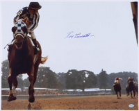 Ron Turcotte Signed 16x20 Photo (Stacks of Plaques Hologram) (See Description) at PristineAuction.com