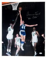 """Jerry West Signed Lakers 16x20 Photo Inscribed """"Mr. Clutch"""" (JSA COA) at PristineAuction.com"""