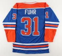 """Grant Fuhr Signed Jersey Inscribed """"5 SC Champ"""" (JSA Hologram) (See Description) at PristineAuction.com"""